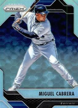 2017 Panini Chronicles - Prizm #47 Miguel Cabrera Front