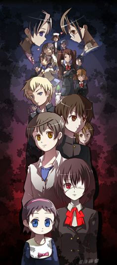 I see Corpse Party and Another.. Maybe it's because they are both about cursed schools and stuff.