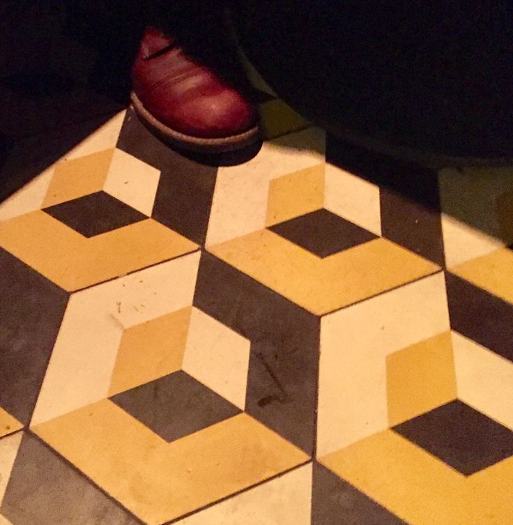 Lovin this tile in Philly restaurant Roots