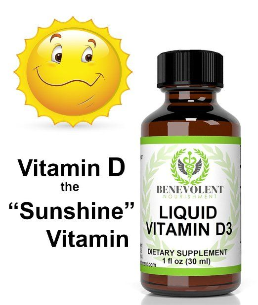 Vitamin D3 Liquid Drops. High Potency 5000 IU Per Serving. Absorb Fast to Best Boost Your Immune System, Increase Energy & Help with Vitamin D Deficiency.