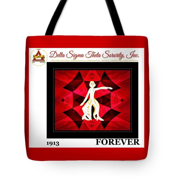 "Forever Delta Tote Bag 18"" x 18"""