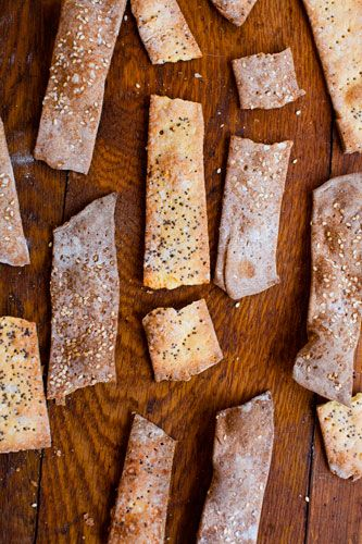 Cornmeal, Parmesan, and Poppy Seed Crackers: D.I.Y. Delicious by Vanessa Barrington