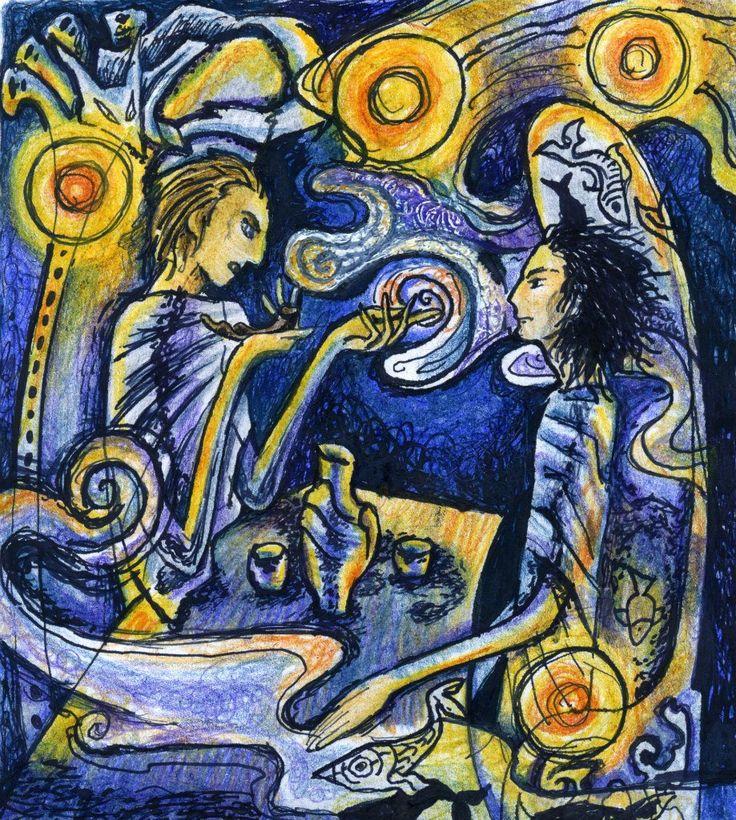 Чиффа и Рыбник (с) юный Шурф Лонли-Локли в ордене дырявой чаши