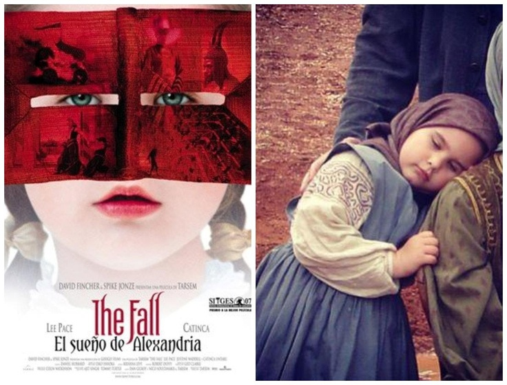 The Fall by Tarsem Singh focuses on the imagination of a 7 year old girl, who turns classical storytelling on its head. The little #Romanian actress is now 16 and studies theatre in #Romania. Her #RomanianBlouse was designed by the legendary Eiko Ishioka #LaBlouseRoumaine