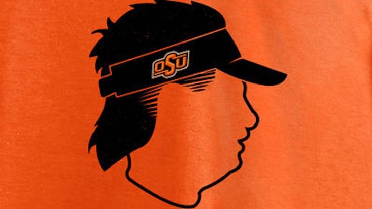 The Oklahoma State online store is selling a sweatshirt in honor of Mike Gundy's mullet