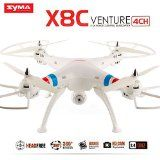 Amazingbuy - Syma X8C Venture Headless Mode RC Quadcopter Drone UAV RTF UFO with 2MP HD Camera - Newest Version - Orginal Box - 4 additional Propellers + 4GB Memory Card + Memory Card Reader + Tracking Number - White color - With Amazingbuy LOGO - http://dronesheaven.ianjweboffers.com/amazingbuy-syma-x8c-venture-headless-mode-rc-quadcopter-drone-uav-rtf-ufo-with-2mp-hd-camera-newest-version-orginal-box-4-additional-propellers-4gb-memory-card-memory-card-reader-trackin/