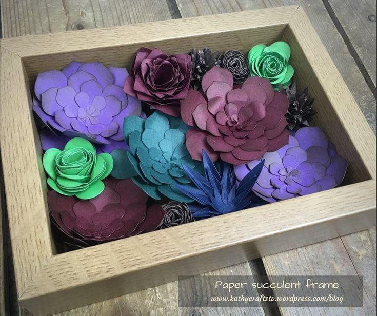 Paper Succulents | Craft Inspiration