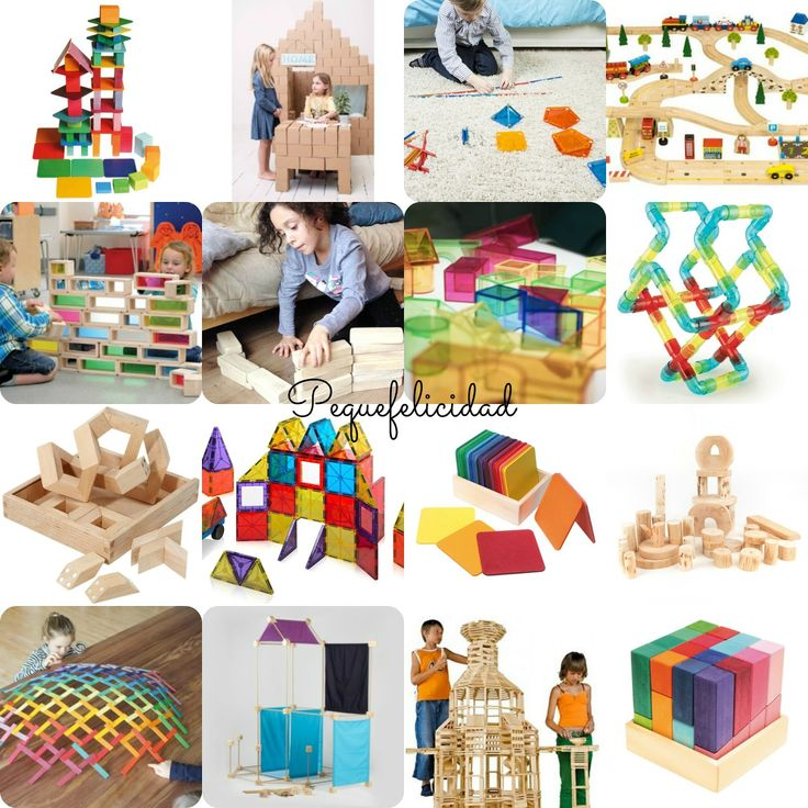 PEQUEfelicidad: 35 IDEAS PARA JUGAR A LAS CONSTRUCCIONES
