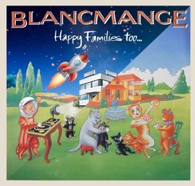 """Sun 10 Nov, 2013. Possibly still best known for their seminal breakthrough hit """"Living On The Ceiling"""", Blancmange had seven top 40 hits and two top 40 albums between 1982 and 1985, and are still rated alongside such contemporaries as Depeche Mode, Human League, Soft Cell, Yazoo and OMD. CLICK THE IMAGE TO BUY NOW before it;'s too late!"""