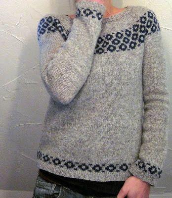 Grasfleckenbylilalu: new sweater