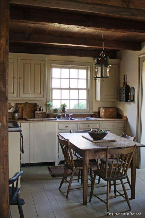 Small Country Kitchen.