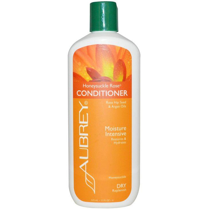 Aubrey Organics, Honeysuckle Rose Conditioner, Moisture Intensive, Dry, 11 fl oz (325 ml)