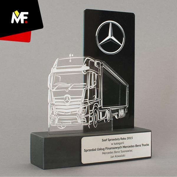 Jubileuszowa statuetka wykonana z dw ch paneli pleksi for How to design a trophy