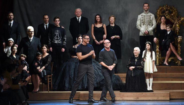 ... inno alla famiglia di Dolce e Gabbana - Foto - Giornale di Sicilia