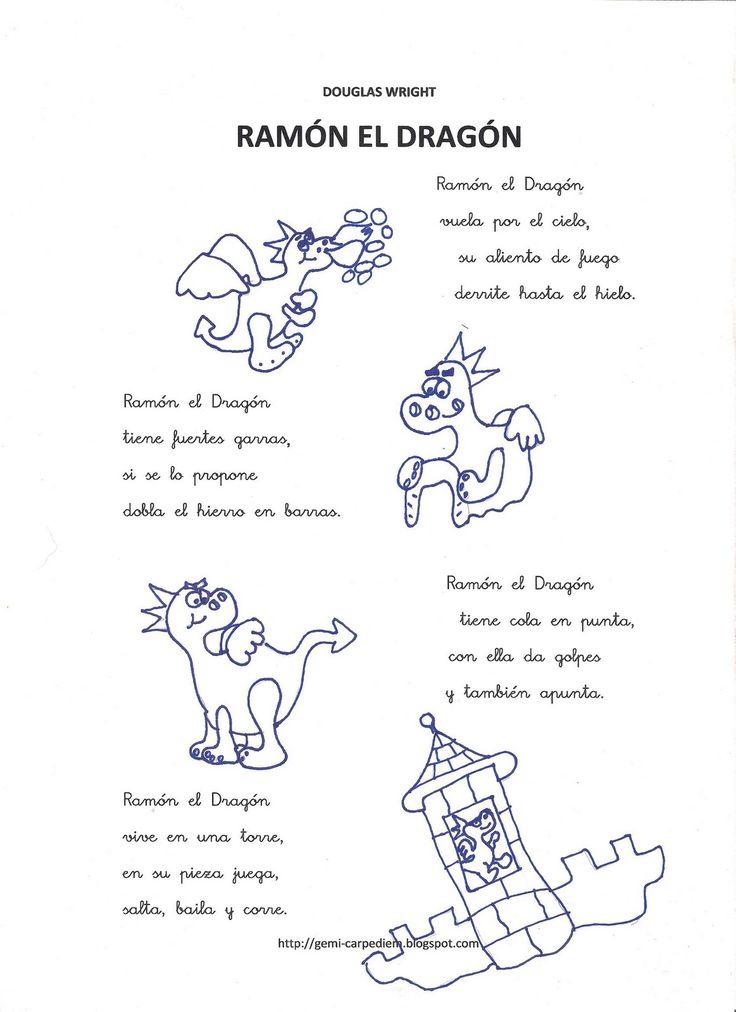 Con esta canción, además de trabajar el proyecto de los Dragones, también vamos a estimular y corregir determinados problemas del lenguaj...