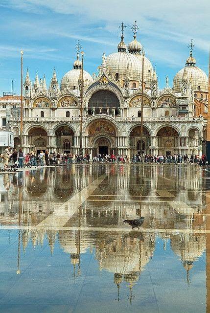 veneza, praça de são marcos