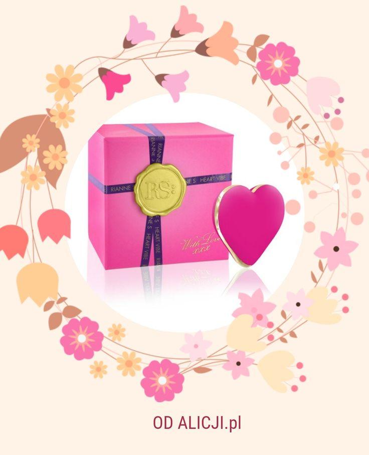 Wyjątkowe produkty dla wyjątkowych kobiet - do łóżka, na prezent, dla samej siebie! :)  na przykład masażer serce w pięknym opakowaniu :) || #inspiracje #zakupy #prezent #DzieńKobiet #dlakobiet #kobiece #kulkigejszy #zabawki #gadżety #perfumy #RianneS #wibrator #masażer #heart
