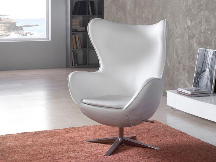 Fersk Stol modell EGG. #stol #lenestol #hvit #egg #stue #interior EE-05