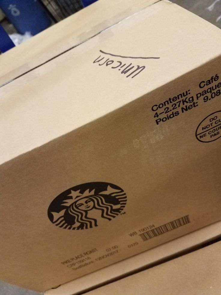 Started the weekly load to discover this... whoever packaged are load this week I hope you get impaled by the unicorns you love so much. #starbucks #coffee #love #frappuccino #latte #tea #yummy #gift