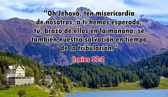 Apropiadamente, Isaías le pide a Jehová que libere a Su pueblo tal como lo ha hecho muchas veces en el pasado (Salmo 44:3; 68:1). Y apenas termina el profeta su oración, cuando predice la respuesta que Jehová dará