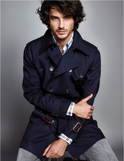 A shorter trench with interesting detail (tortoise shell hardware?) is a great alternative to the usual.