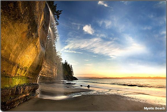 Mystic Beach, Vancouver Island, Canada | MuchPics