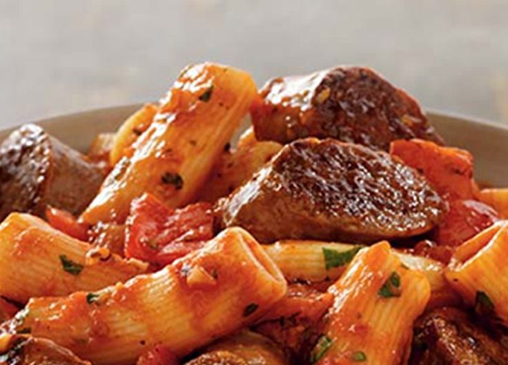 It's amazing what one ingredient can do. Add Johnsonville Italian Sausages to any basic pasta dish to create something truly outstanding! The sausage does a great job complimenting the pasta, peppers, garlic, and sauce. This great, no-hassle recipe is a must for pasta lovers!