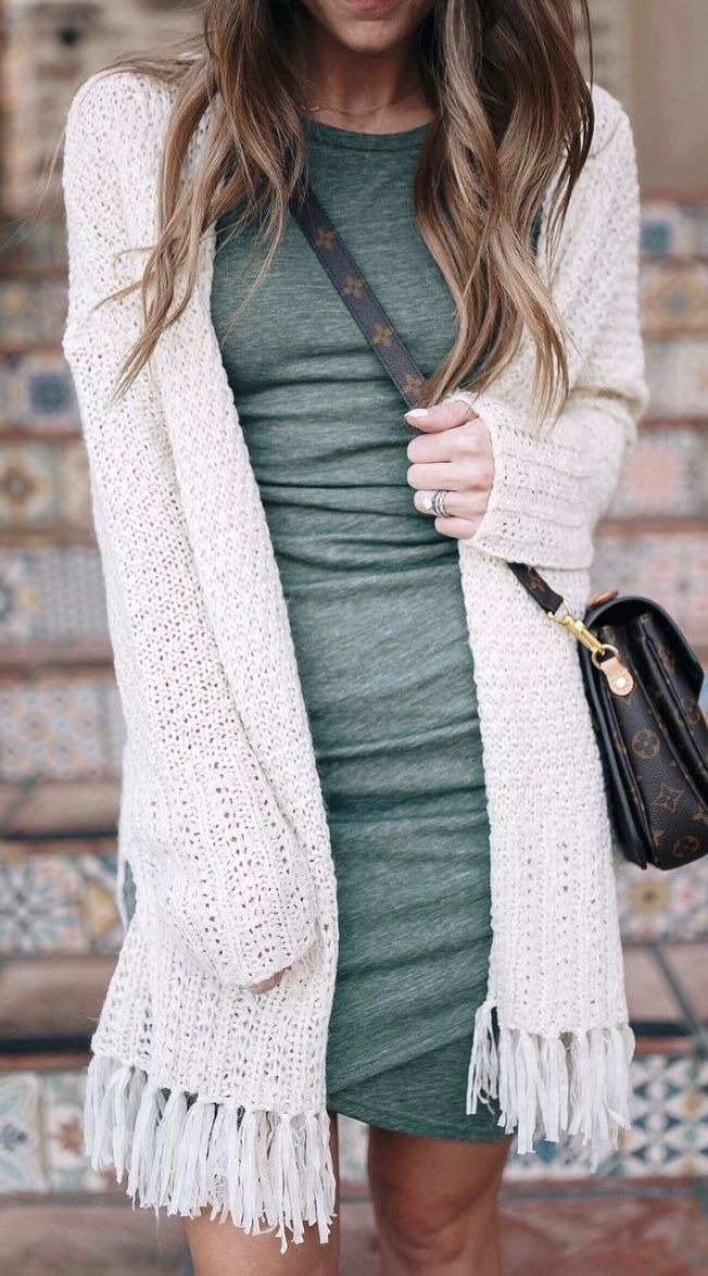 Best 25  Dress with sweater ideas on Pinterest | Fall fashion ...