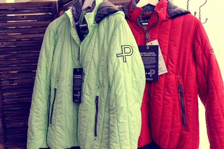 "MarianneH ""fashion livingroom"" and boutique at Välikatu has recently opened a section for men also. These Pelle P. Mistral jackets in red and soft green are suitable for both men and women. The price is 239 €. www.visitporvoo.fi"