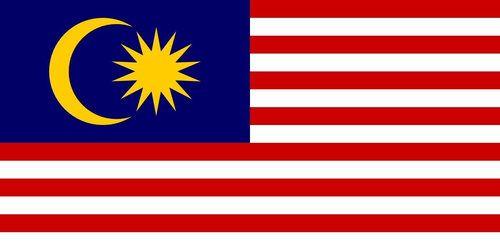 Malaysia Malaysian Flag 3.5 inch Sticker Vinyl Decal Stickers