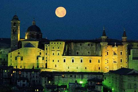 Urbino, Palazzo Ducale.