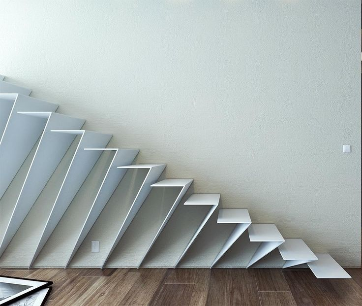 Floating Staircase by Ro Kun.i