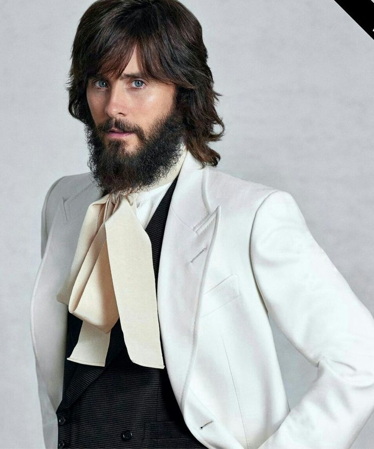 Brilliant! :)) Jared leto the actor of the year (2017, GQ)