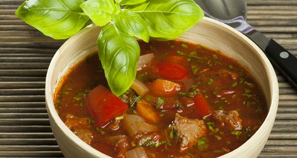 DANISH: Paprikasuppe (Paprika Soup)