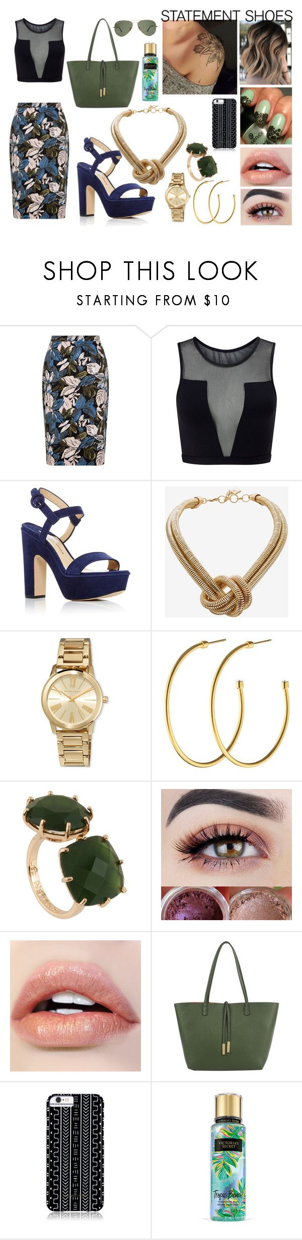 """Statement Shoes"" by xautumnxrainx ❤ liked on Polyvore featuring Varley, Paul Andrew, BCBGMAXAZRIA, MICHAEL Michael Kors, Dyrberg/Kern, Les Néréides, Remi & Reid, Savannah Hayes and Victoria's Secret"