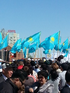 Kazakhstan Flags