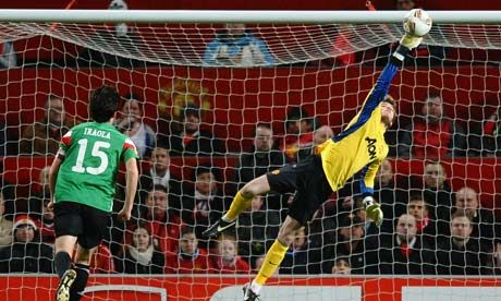 The only positive from the game was de Gea's performance.