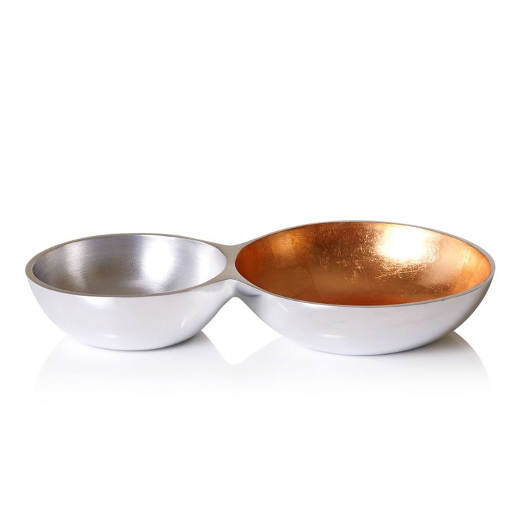 Buy the Double Trinket Dish at Oliver Bonas. Enjoy free worldwide standard delivery for orders over £50.