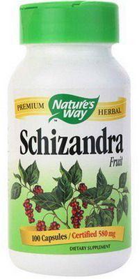 Nature's Way Schizandra - 580 mg, 100 Capsules