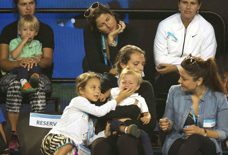 Breakfast at Wimbledon | norinchi:   Roger Federer´s family ! Kids Days at...