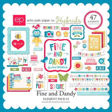 Fine and Dandy Element Pack #2 - Snap Click Supply Co.