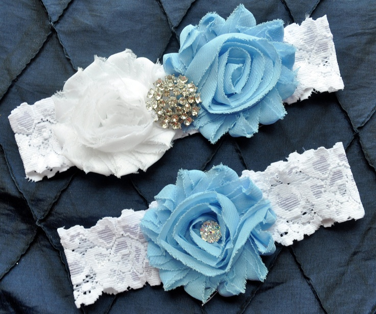 Tarheel Inspired Wedding Garter