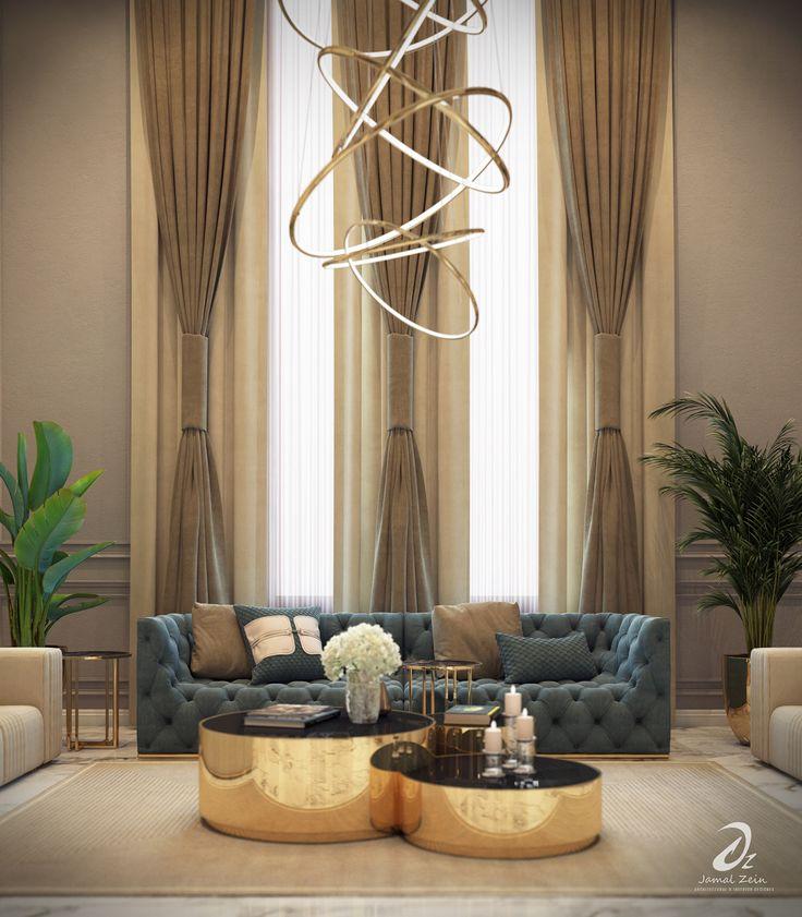 Living Hall Interior Design: Hall Design On Behance In 2020