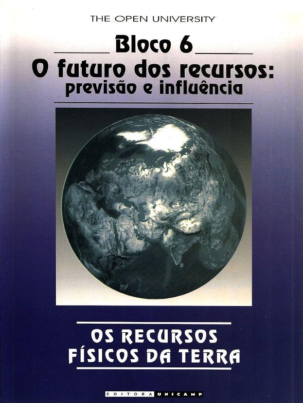 BROWN, Geoff. Os recursos físicos da terra: bloco 6: o futuro dos recursos: previsão e influência. [The earth's physical resources - block 6 - the future of resources: prediction and influence (inglês)]. Tradução de Saul B. Suslick. Campinas: Unicamp, 2003. 112 p. ISBN 8526806440. il. tab. quad.; 28x21cm.  Palavras-chave: GEOCIENCIAS; MINAS E RECURSOS MINERAIS; ECONOMIA MINERAL.  CDU 550.8 / B878r / 2003