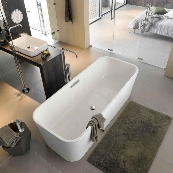 110 best Badezimmer Ideen für die Badgestaltung images on - freistehende badewanne raffinierten look