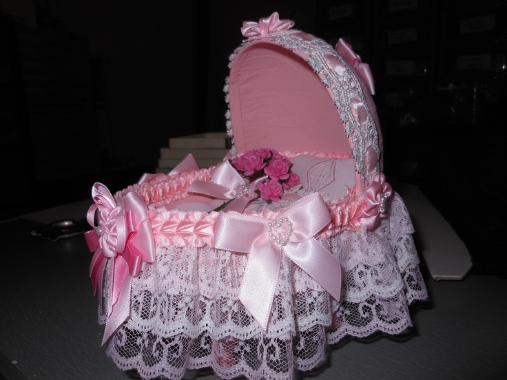 Would you believe this shabby Chic Cradle is created from and egg? lol