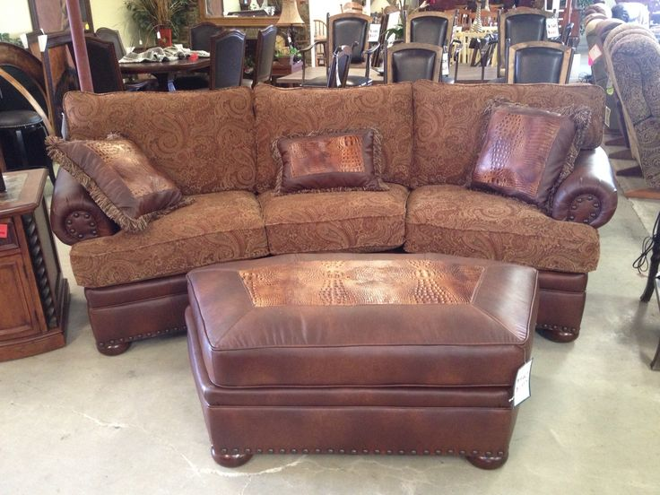 Mayo Furniture conversational couch from Denio's in Cameron, Texas