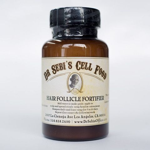 Hair Follicle Fortifier – Dr. Sebi's Cell Food