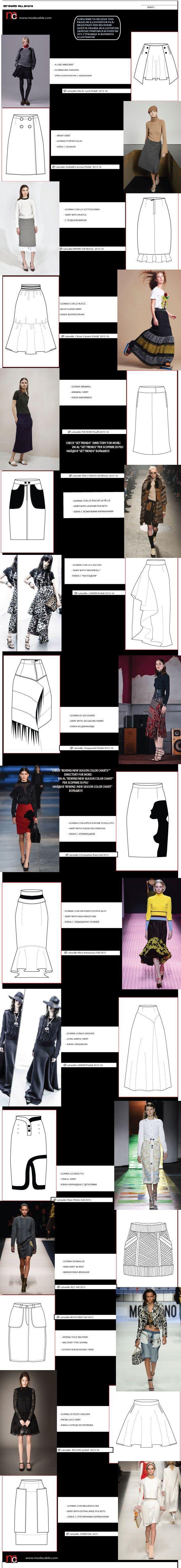 Юбки бывают разные (трафик) / Детали / Своими руками - выкройки, переделка одежды, декор интерьера своими руками - от ВТОРАЯ УЛИЦА