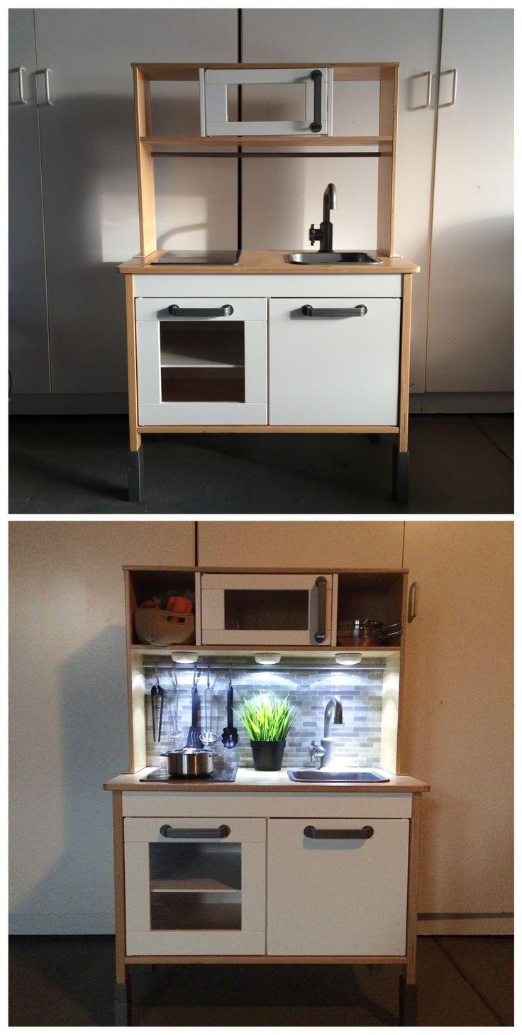 Ikea Duktig kitchen b&A